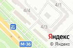 Схема проезда до компании Асем в Караганде