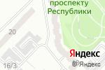 Схема проезда до компании Парус в Караганде