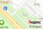Схема проезда до компании Двери kz в Караганде