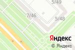 Схема проезда до компании Нотариус Рахимбекова Д.М. в Караганде