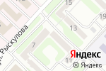 Схема проезда до компании Торговая компания в Караганде