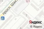 Схема проезда до компании Мурат в Караганде
