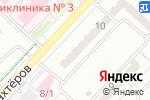 Схема проезда до компании Здравица в Караганде