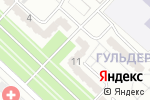 Схема проезда до компании Комфорт в Караганде