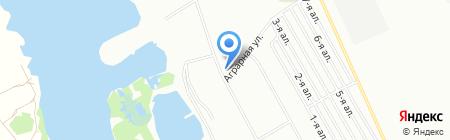 Николаевка на карте Омска