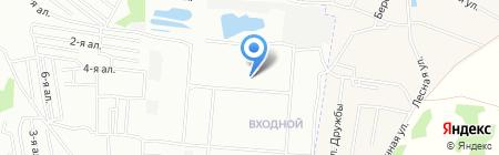 Средняя общеобразовательная школа №161 на карте Омска