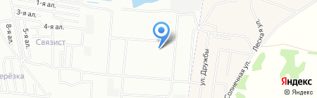 Детский сад №10 на карте Омска