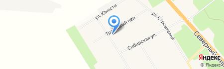 Поликлиника №1 на карте Барсово