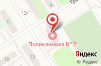 Схема проезда до компании Поликлиника №1 в Солнечном