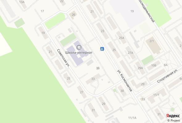 жилой комплекс Космонавтов, 38