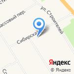 Администрация сельского поселения Солнечный на карте Солнечного