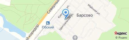 Банкомат Сургутнефтегазбанк на карте Барсово