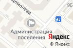 Схема проезда до компании Администрация городского поселения Барсово в Барсово