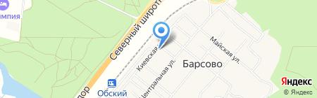 Компания по производству бахил на карте Барсово