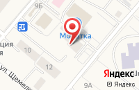 Схема проезда до компании Гостиница в Барсово