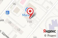 Схема проезда до компании Парикмахерская в Барсово
