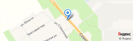 Шиномонтажная мастерская на карте Барсово