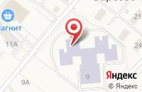 Схема проезда до компании Средняя общеобразовательная школа №1 в Барсово