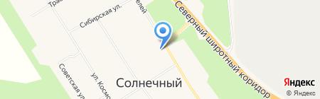 Магазин фруктов и овощей на ул. Строителей на карте Барсово