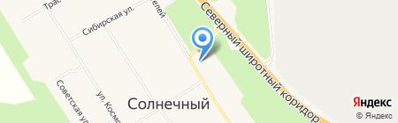 Цветочный магазин на ул. Строителей на карте Барсово