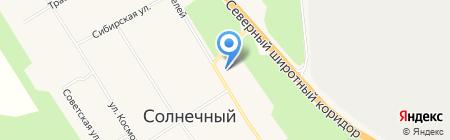 Киоск фастфудной продукции на карте Барсово