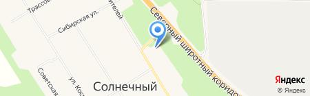 Отдел полиции №3 Отделение МВД России по Сургутскому району на карте Барсово