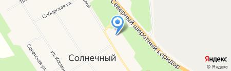 Берёзка на карте Барсово
