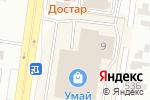 Схема проезда до компании FLIP.kz в Караганде