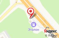 Схема проезда до компании АЗС в Солнечном
