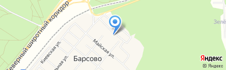 Пожарная команда на карте Барсово