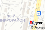 Схема проезда до компании Фиалка в Караганде