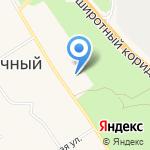 Храм во имя святого благоверного Князя Александра Невского на карте Солнечного