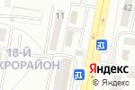 Схема проезда до компании Хозяюшка в Караганде