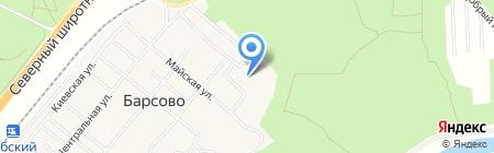 Апрель на карте Барсово
