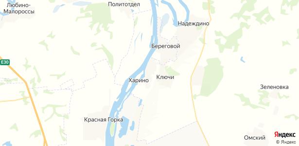 Харино на карте