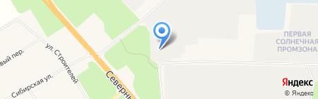Автостоянка на карте Барсово