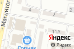 Схема проезда до компании Kaspi bank в Караганде