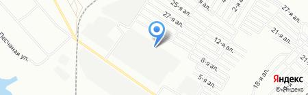 Лайк-мебель на карте Омска