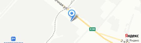 Манрос М на карте Омска