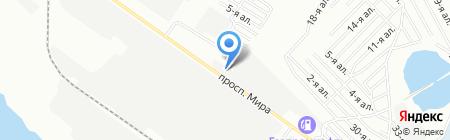 Daewoo на карте Омска