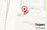 Схема проезда до компании Ателье в Ключах