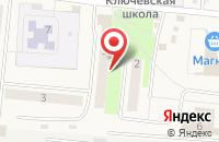 Схема проезда до компании Сибириада в Ключах