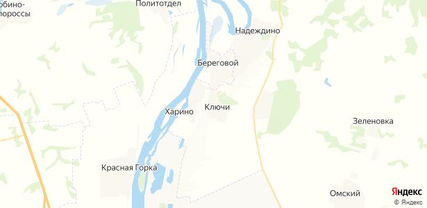 Ключи на карте