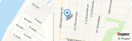 Детская школа искусств №19 на карте Омска