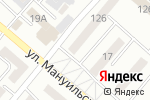 Схема проезда до компании Алма ТВ в Караганде