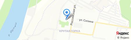 Детская школа искусств №11 на карте Омска