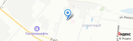 Левобережный-8 на карте Омска