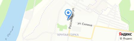 Крутогорский на карте Омска