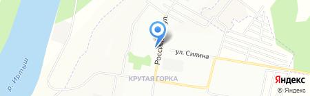 Банкомат ИКБ Совкомбанк на карте Омска