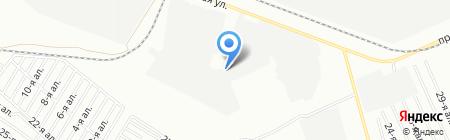 Бизнес-Партнер на карте Омска